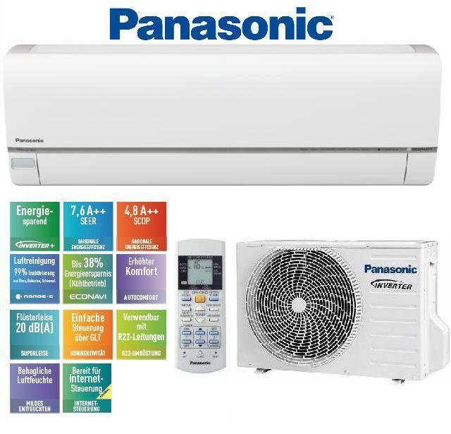 PANASONIC KIT-E12QKEW klimatizace, čistička vzduchu