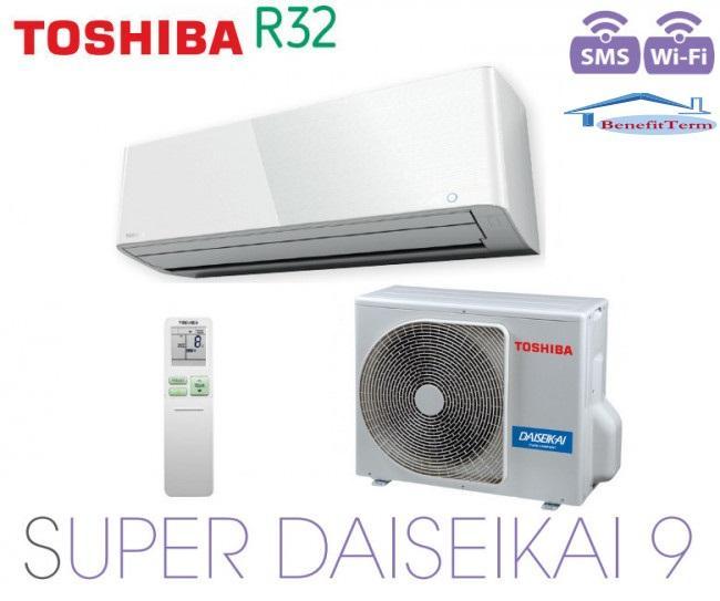 Toshiba Super Daiseikai 9 - R32 - RAS-13PAVPG-E + RAS-13PKVPG-E