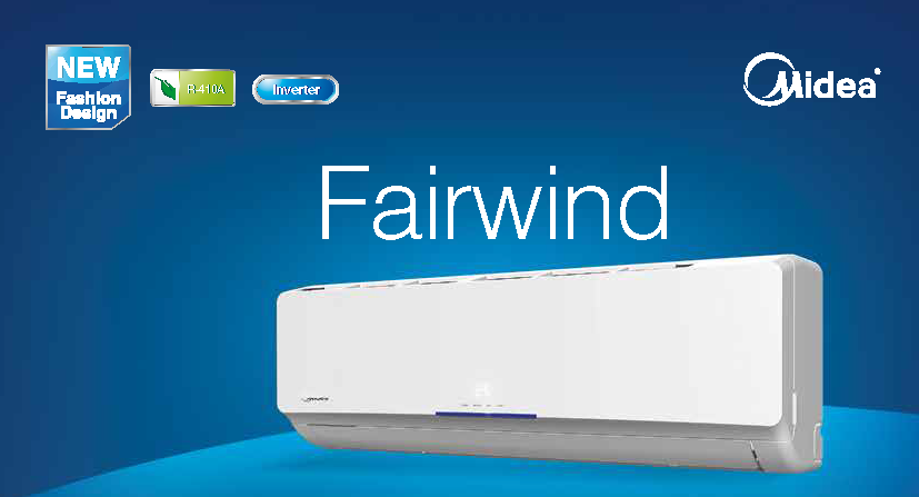 MIDEA FAIRWIND INVERTER MS24FU-24HRDN1   7,6 kW