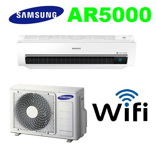Samsung AR5000 5,0 kW AR18MSWSAWK-VČETNĚ MONTÁŽE