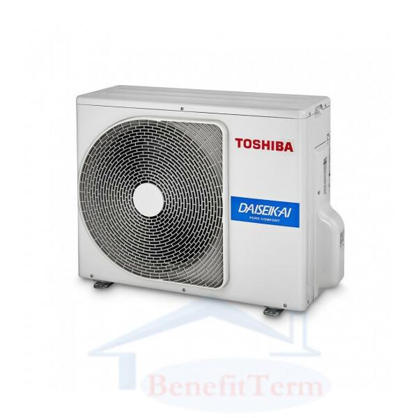 Toshiba Super Daiseikai 9 - R32 - RAS-10PAVPG-E + RAS-10PKVPG-E (2.5 KW)
