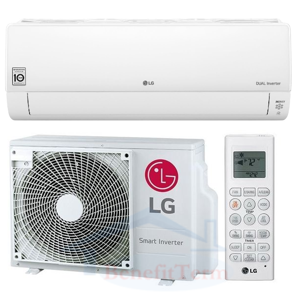 LG Deluxe DC09RQ 2,5 kW, R32