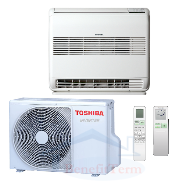 Toshiba Suzumi Plus parapetní 3,5 kW