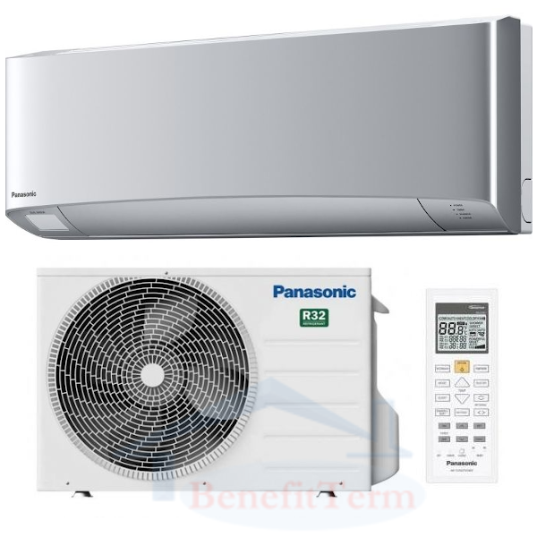 Panasonic Etherea KIT-XZ35-VKE 3,5 kW stříbrná