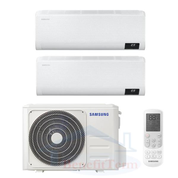 Samsung Wind-Free Comfort multisplit 2x1 (2x 3,5 kW) včetně montáže