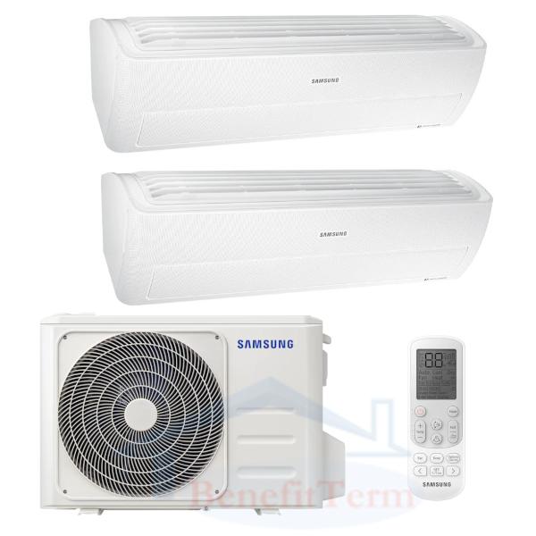 Samsung Wind-Free Standard multisplit 2x1 (2x 3,5 kW) včetně montáže