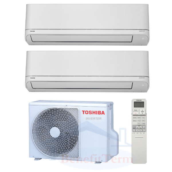 Toshiba Suzumi Plus multisplit 2x1 (2x 3,5 kW) včetně montáže