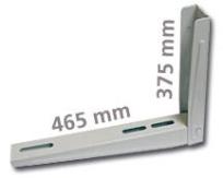 Nástěnná konzole, nosnost do 140 kg