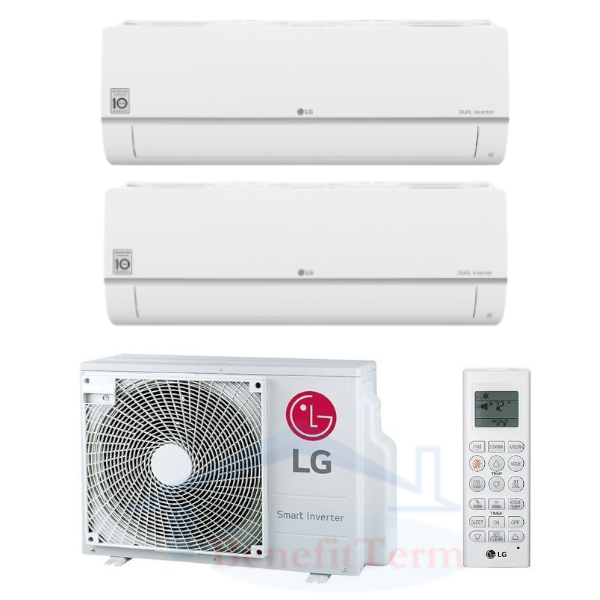 LG Standard Plus multisplit 2x1 (2x 2,5 kW) včetně montáže