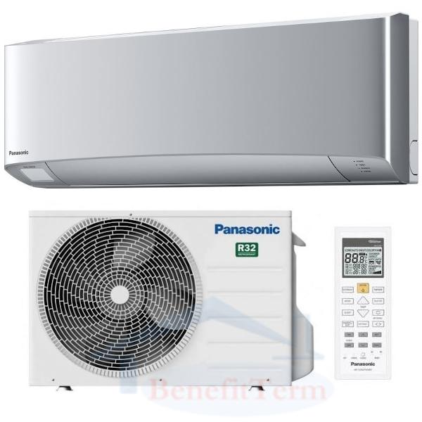 Panasonic Etherea KIT-XZ25-VKE 2,5 kW stříbrná