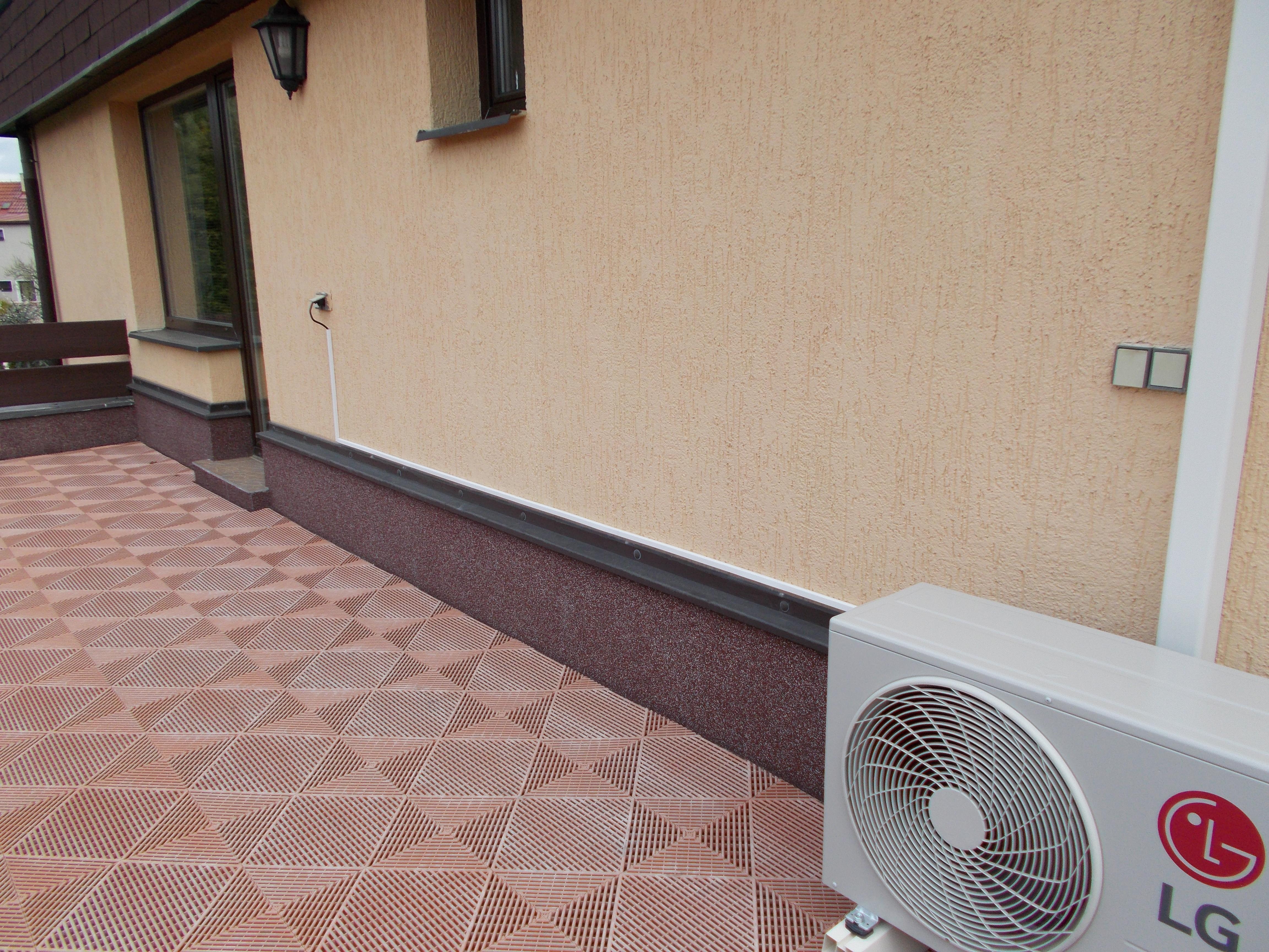 Montáž klimatizace - 1 venkovní + 1 vnitřní jednotka