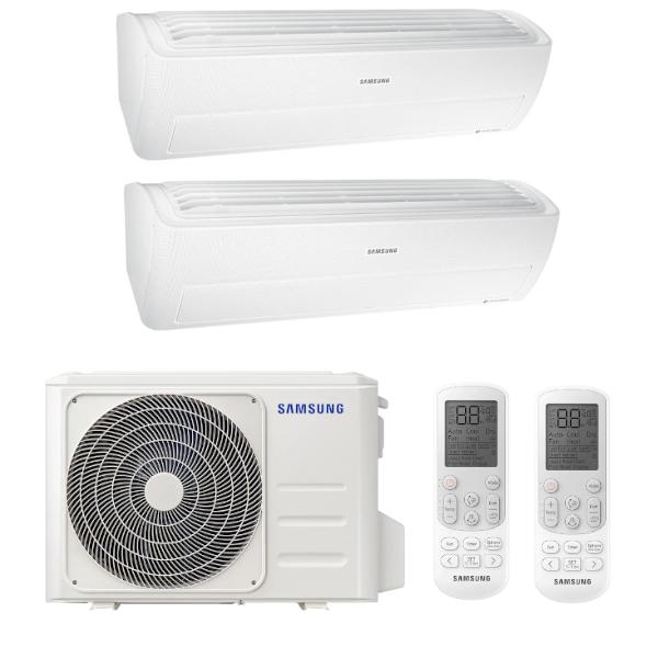 Samsung Wind-Free Standard multisplit 2x1 (2x 2,8 kW) včetně montáže