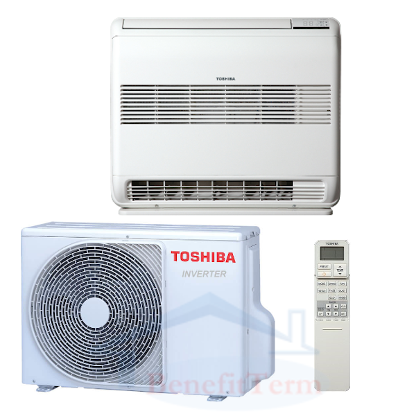 Toshiba Suzumi Plus parapetní 5 kW