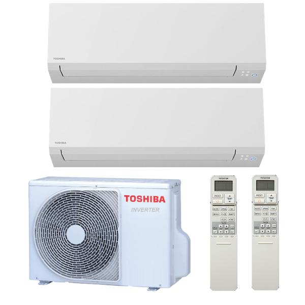 Toshiba Shorai Edge multisplit 2x1 (2,5 a 3,5 kW) včetně montáže
