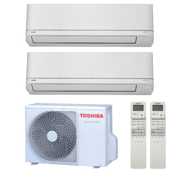 Toshiba Suzumi Plus multisplit 2x1 (2x 2,5 kW) včetně montáže